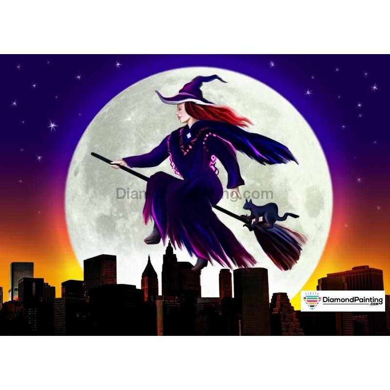 Witch Rides Across T...