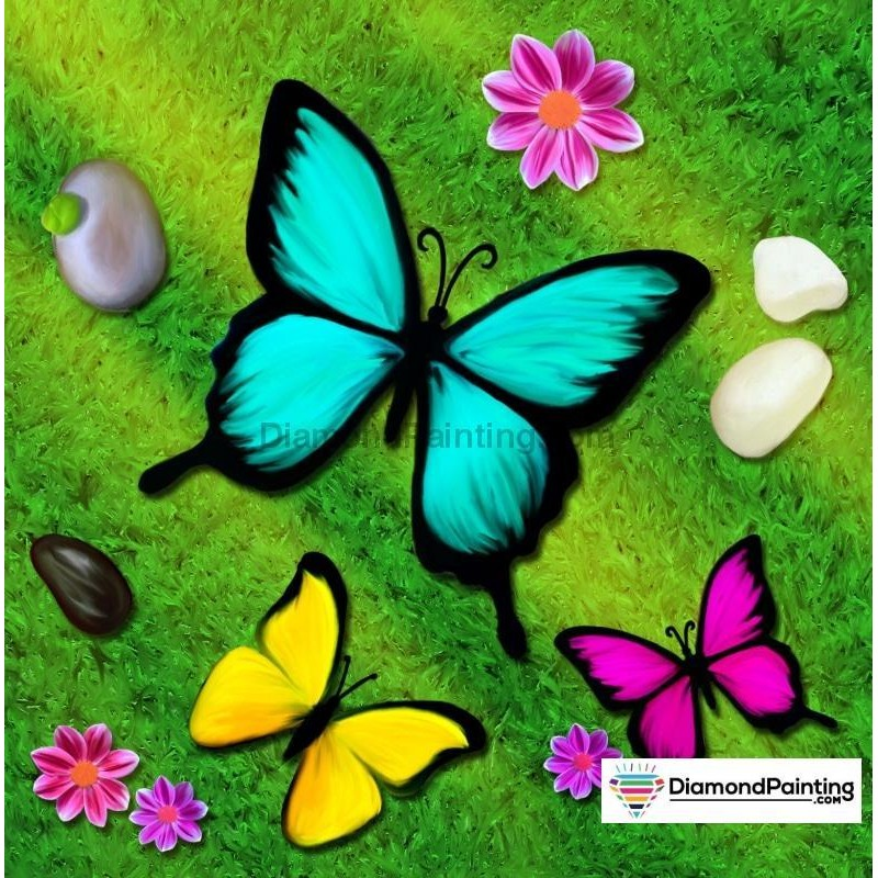 Butterfly Days Diamo...