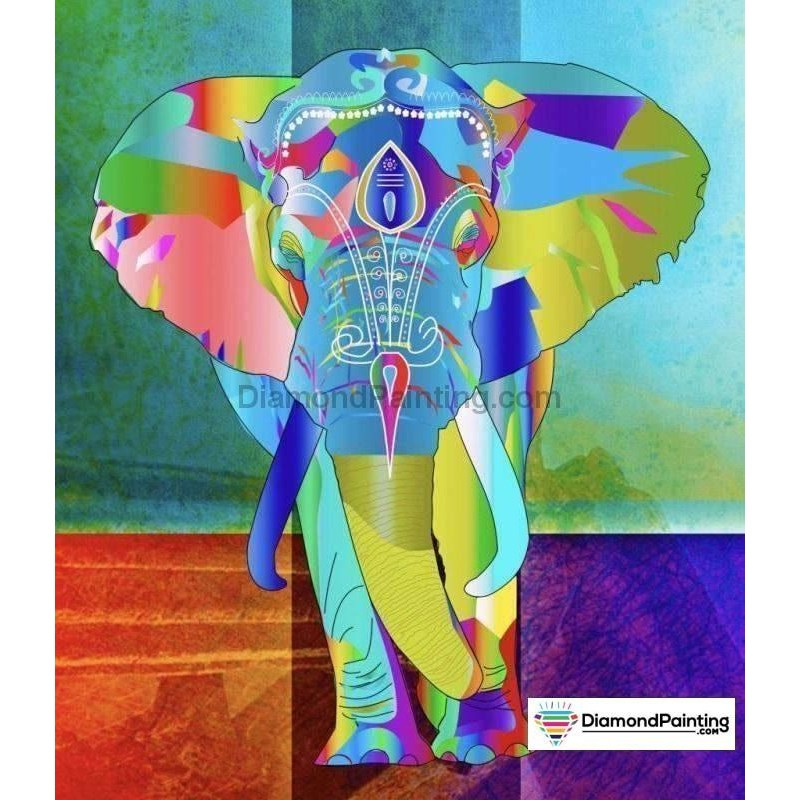 Abstract Elephant DI...