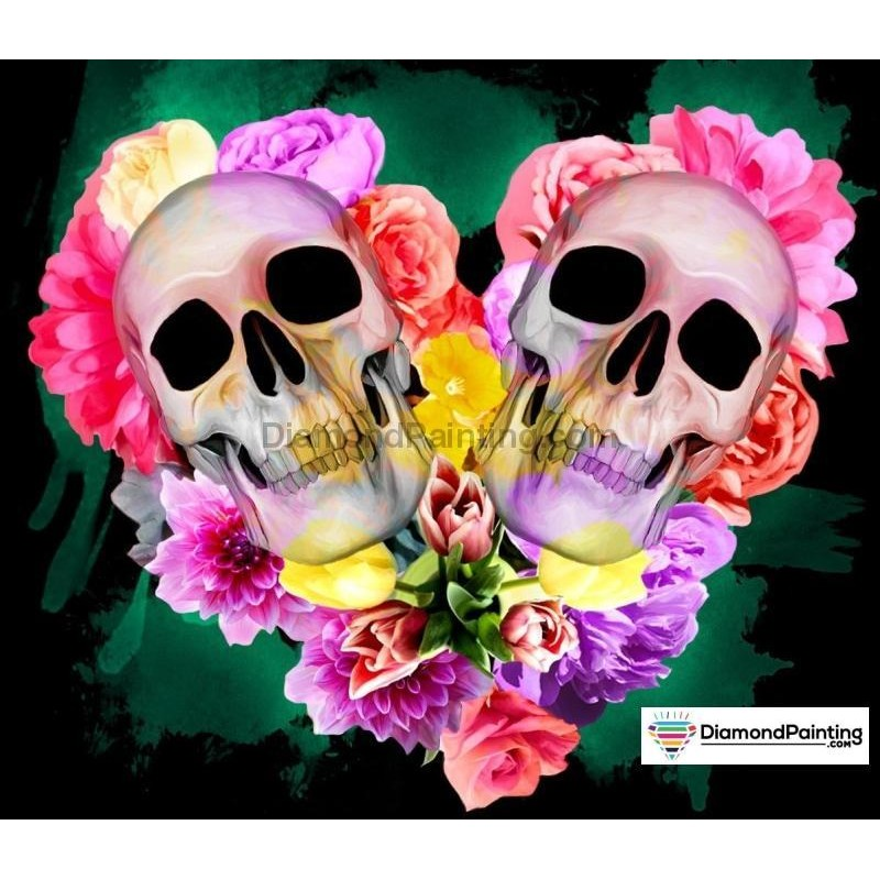 Heart Skull Diamond ...
