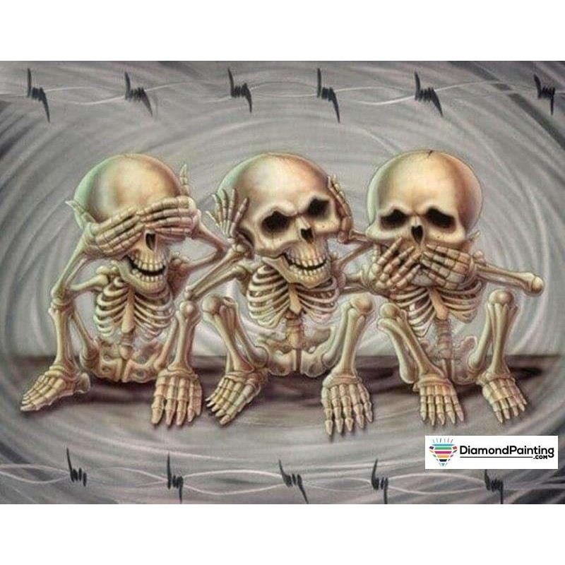 Halloween Skeletons ...