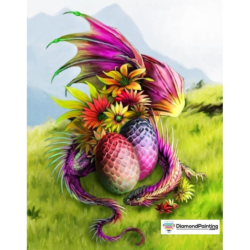 Colorful Dragon Diam...