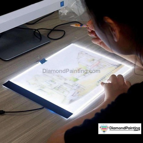 Ships From USA - Diamond Painting  Light Tablet Ultra Thin