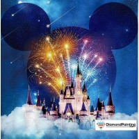 Magic Kingdom Castle Diam...