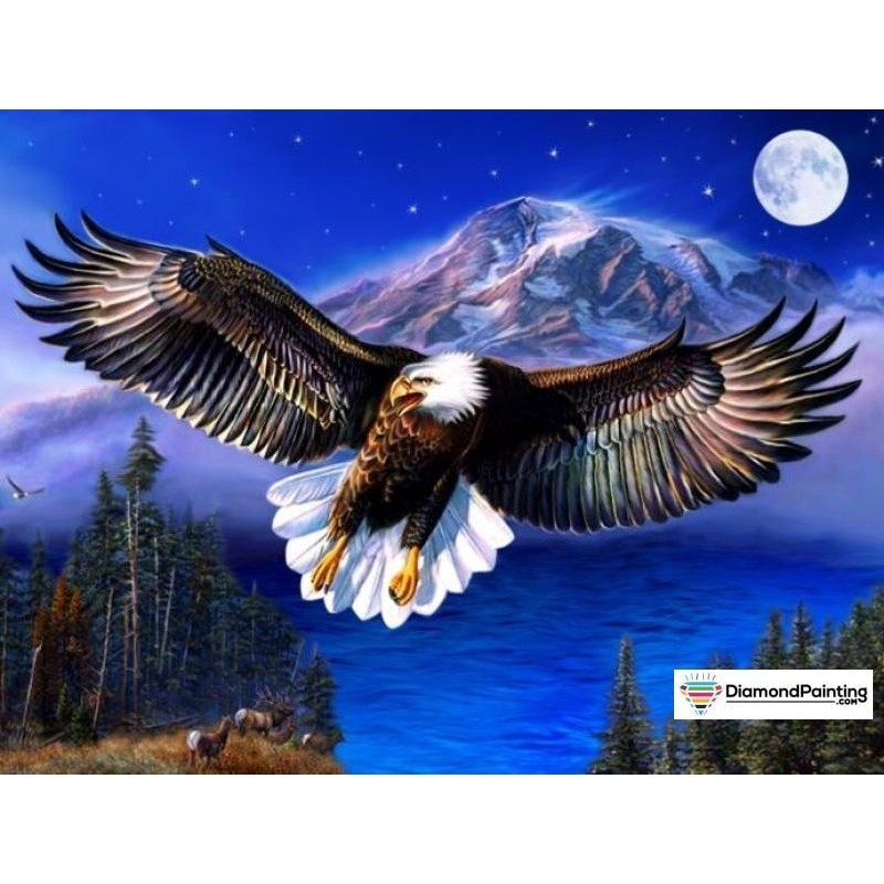 Eagle Moon Diamond P...